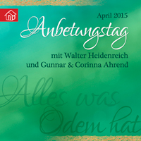 Cd-Cover - Anbetungstag April 2015