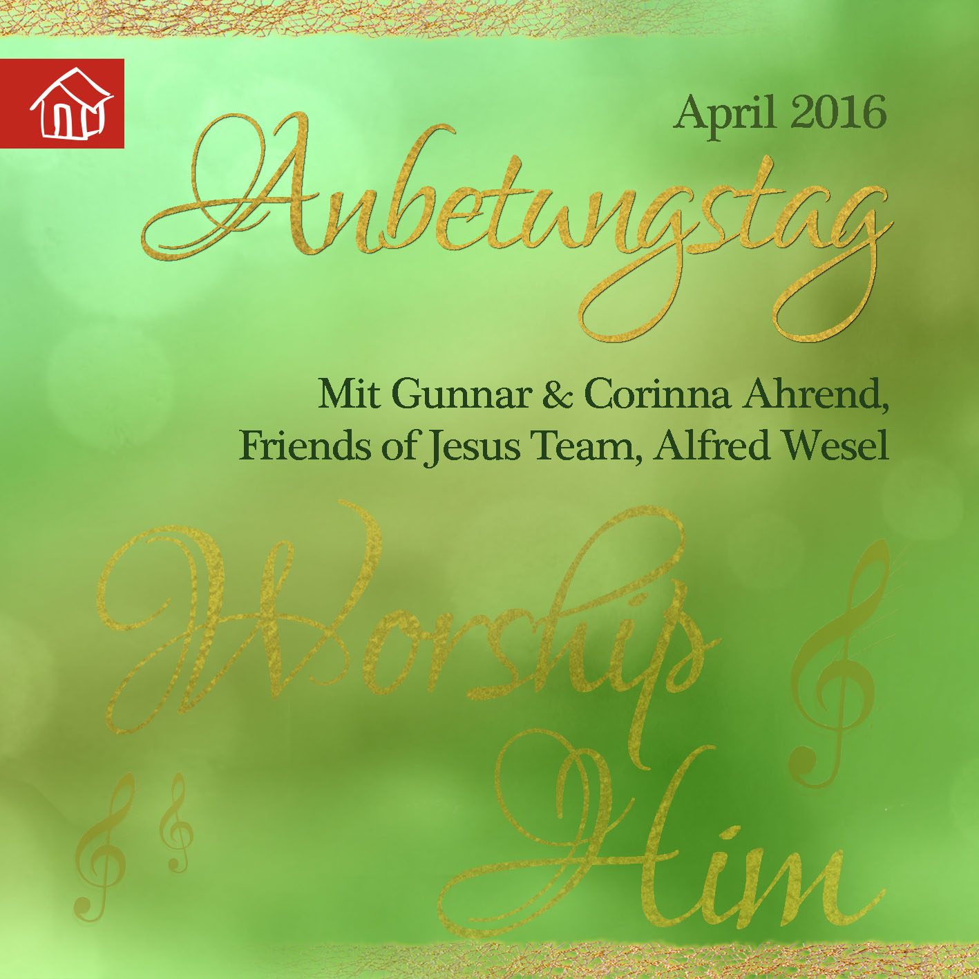 Cd-Cover - Anbetungstag April 2016